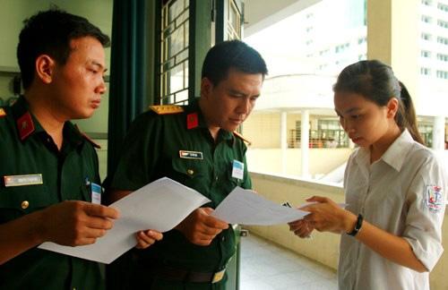 Điểm chuẩn khối ngành quân sự nóng đến mức nào?
