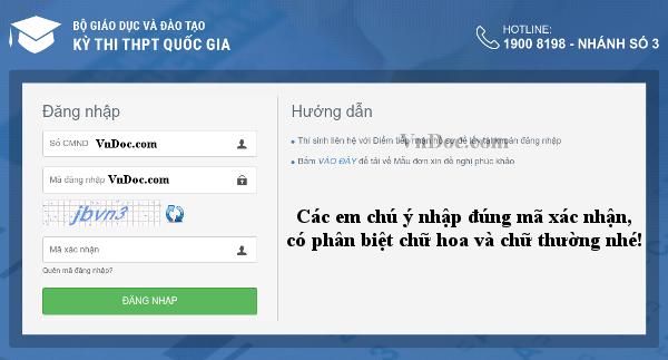 Trang chủ Thisinh.thithptquocgia.edu.vn
