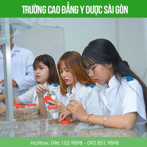 Trường cao đẳng Y dược Sài Gòn xét tuyển không dựa vào điểm chuẩn Đại học