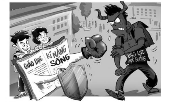 Nhiều nguyên nhân dẫn đến tình trạng bạo lực học đường hiện nay