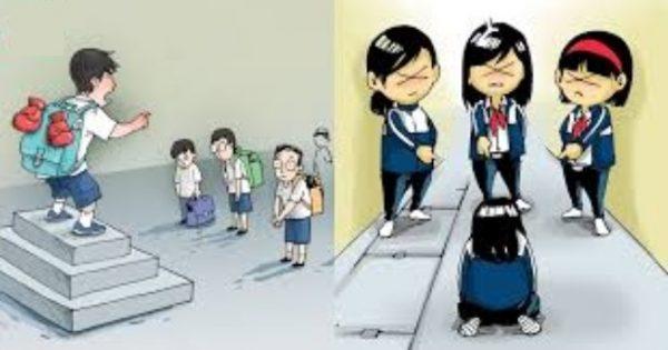 Biểu hiện bạo lực học đường hiện nay đến từ cả nam và nữ