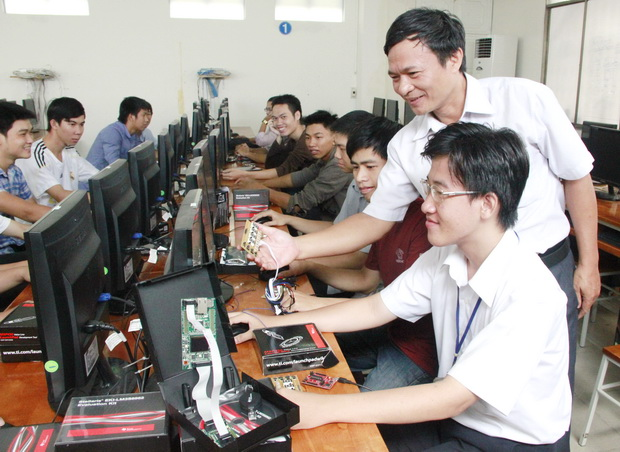 Có nhiều trường chất lượng uy tín đào tạo công nghệ thông tin trên cả nước