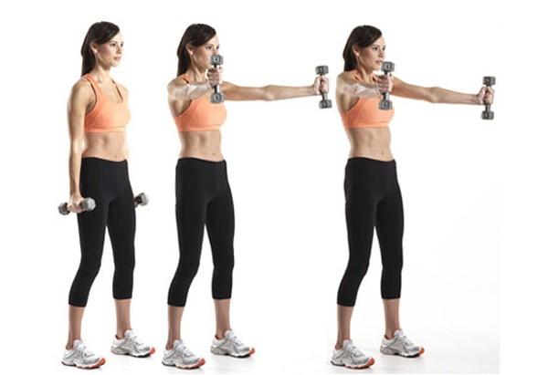 bài tập thể dục tăng vòng 1 và 3 nhanh chóng
