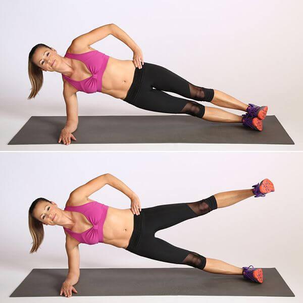 bài tập giảm mỡ bụng dưới cho nữ