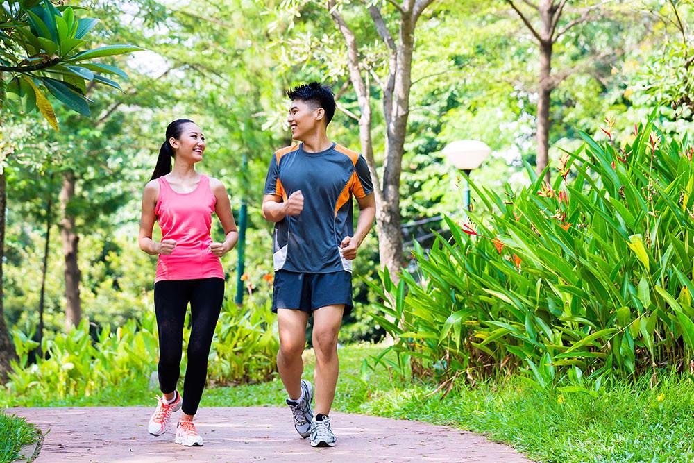 Chạy bộ buổi sáng sớm rất tốt cho cơ thể
